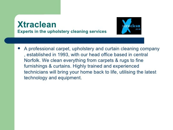 XtracleanExperts in the upholstery cleaning services   A professional carpet, upholstery and curtain cleaning company    ...