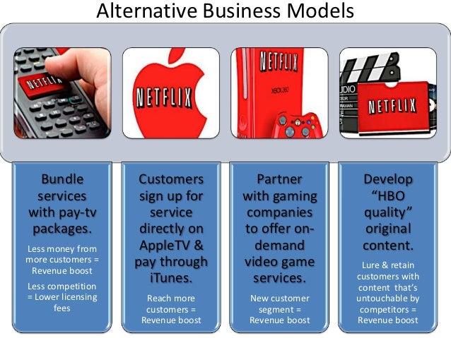 netflix business case study