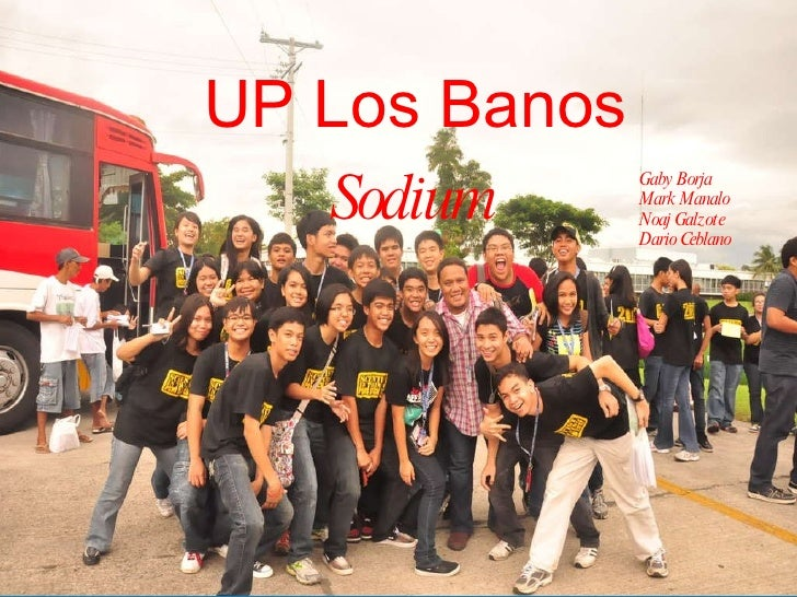 UP Los Banos Gaby Borja Mark Manalo Noaj Galzote  Dario Ceblano Sodium