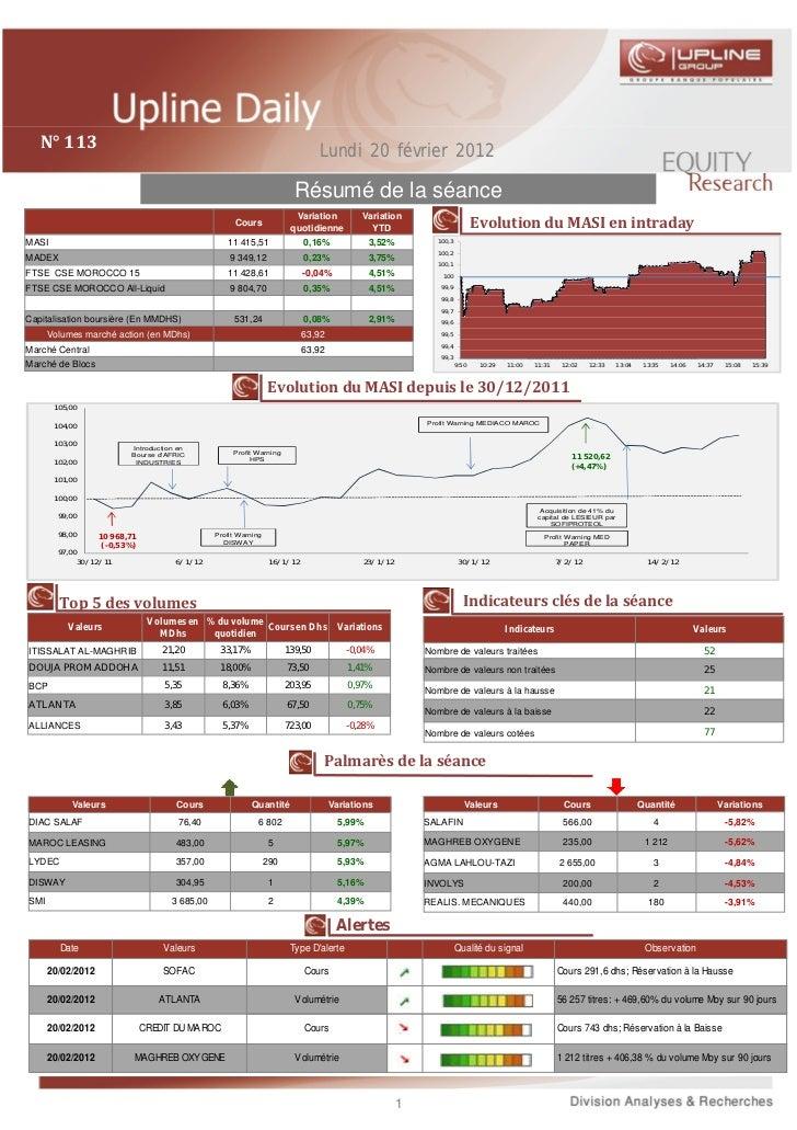 Upline daily du 20 02 2012