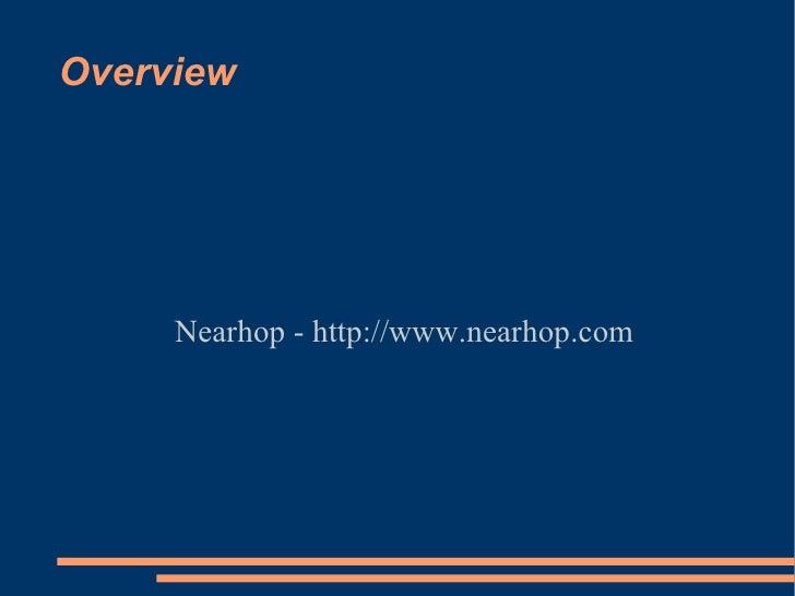Overview Nearhop - http://www.nearhop.com