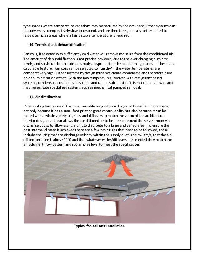Fan Coil Unit Amp Air Handling Unit