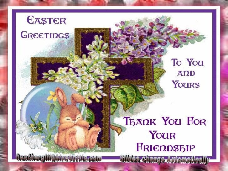 Easter Greetings 2009