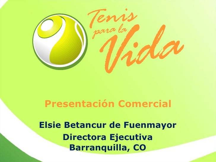 Una causa: http://www.tenisparalavida.org/