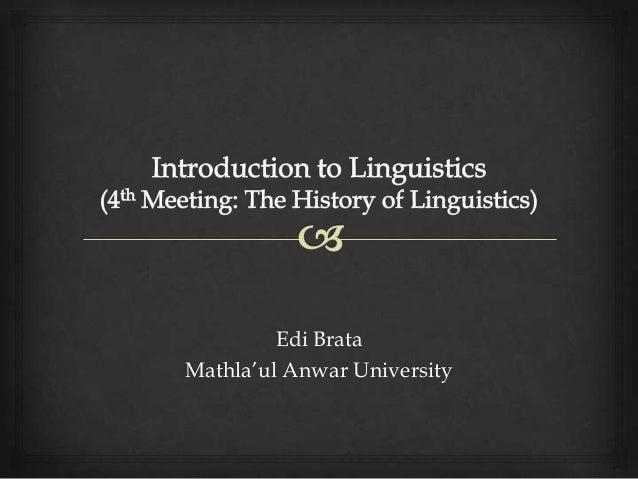 """Edi Brata Mathla""""ul Anwar University"""