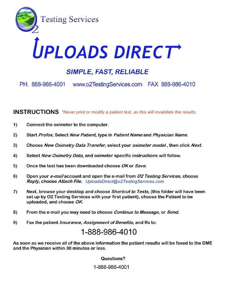 Uploads Direct Instructions