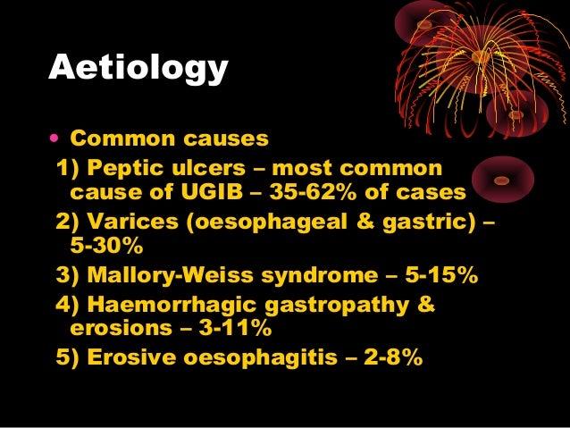 Upper Gastrointestinal Tract Bleeding Ugib