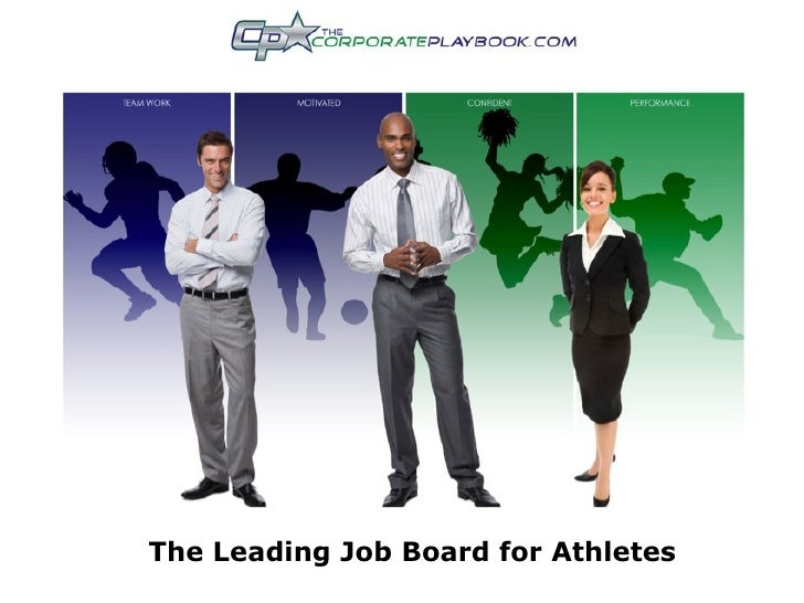 The Leading Job Board for Athletes