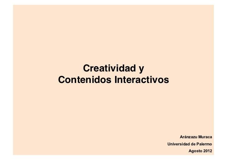 Estrategia y metodología para Contenidos Interactivos