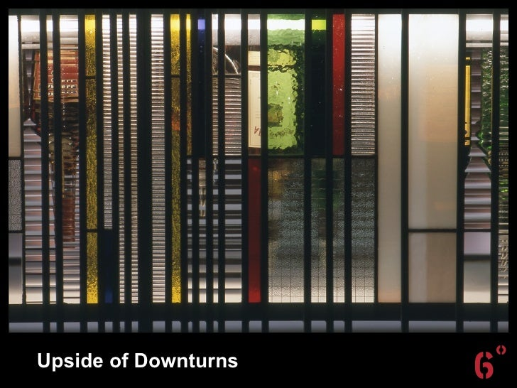 Creative Sydney's Upsides of Downturns - Presentation by Craig Alchin
