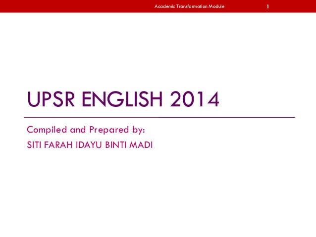 Custom speech writing upsr
