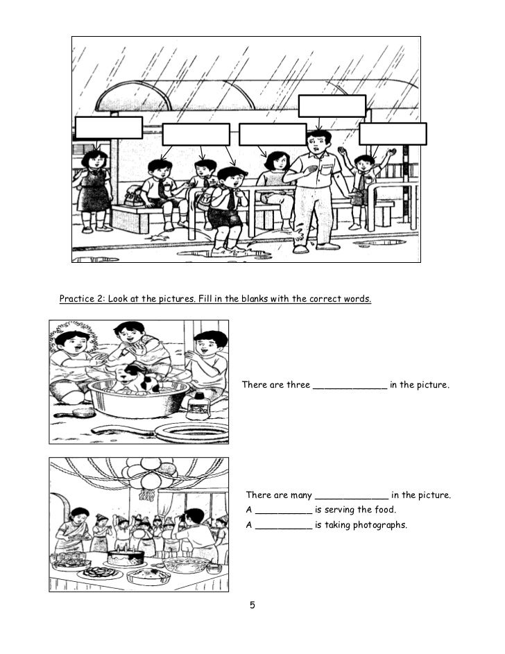 UPSR Pre-Writing Module 1 (Sentence Construction)