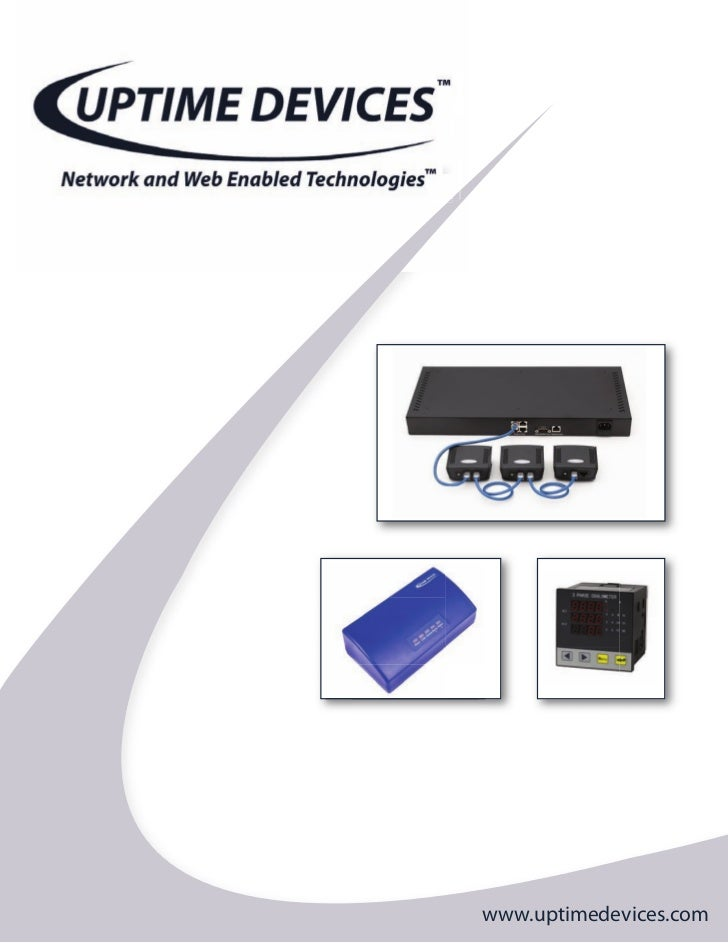 Uptime Devices - Network and Web Enabled Technologies