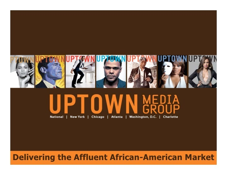 Delivering the Affluent African-American Market