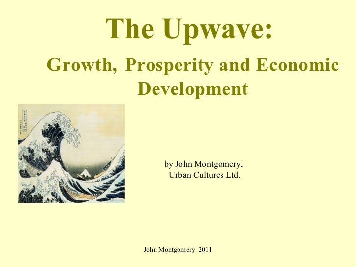 Upwave: city dynamics and the coming economic revival
