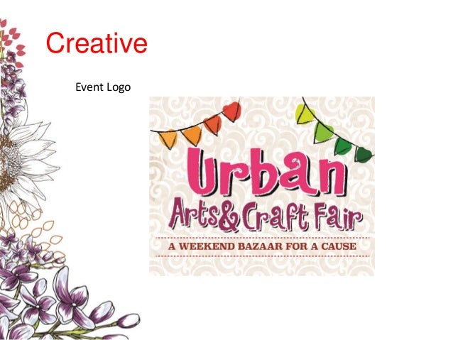 Urban Arts Amp Craft Fair Sample Proposal