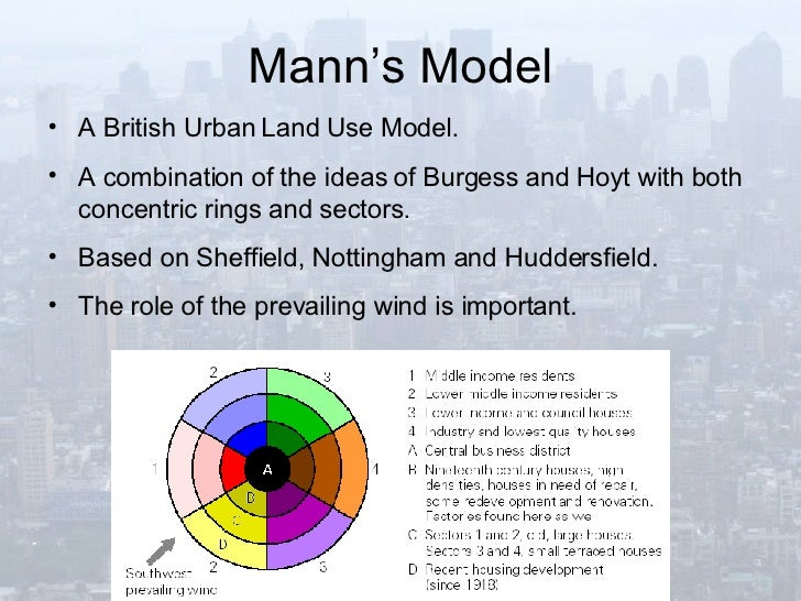 Burgess model geography