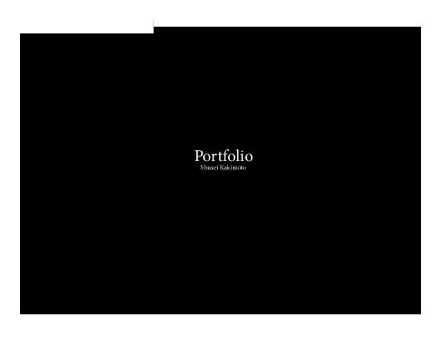 PortfolioShusei Kakimoto