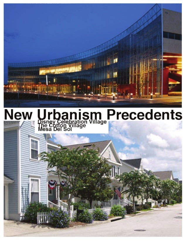 Courtney Urban design precedent research