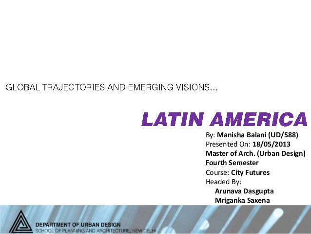 Urban Destinies_Latin America