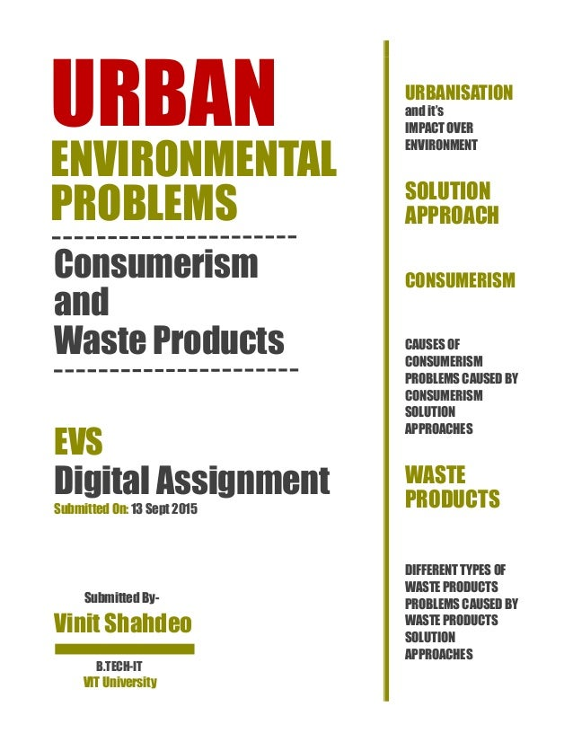 urban environmental problems essay