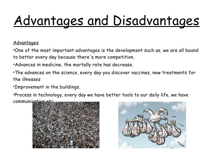 advantages and disadvantages of population growth essay