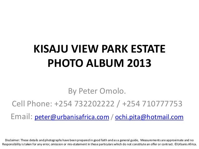Urbanis africa projects presentation 2013.