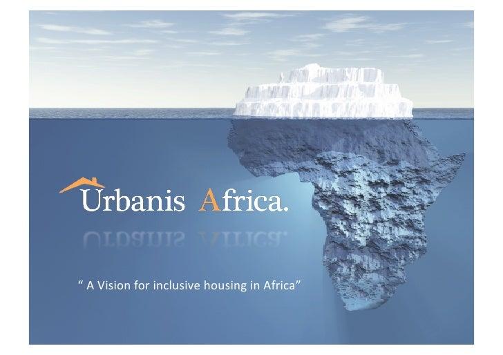 Urbanis corporate presentation  may 2012