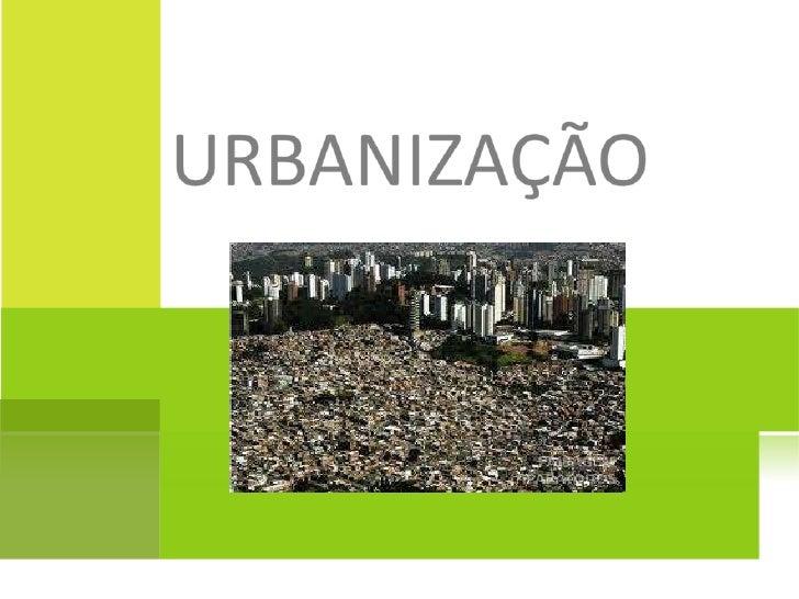 www.centroapoio.com - Geografia - Urbanização - Vídeo Aula