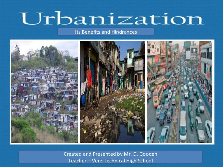 urbanisation of modern india