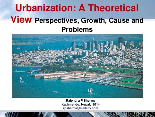 urbanization problems Ii urban problems in the united states american urban areas are characterized by social problems which are expanding and intensifying (eitzen, 2011:145).