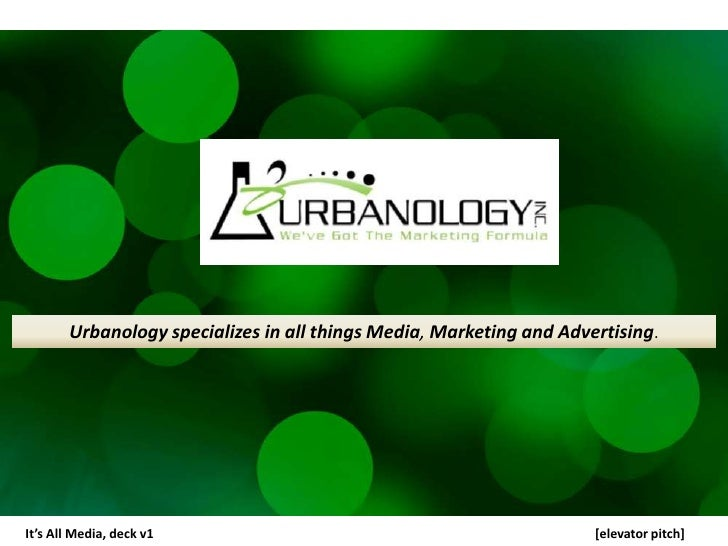 Urbanology Multimedia Strategy by Tami Honesty