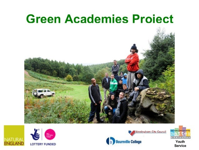 Green Academies Project                           Youth                          Service