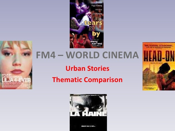 Urban stories thematic comparison student notes use this