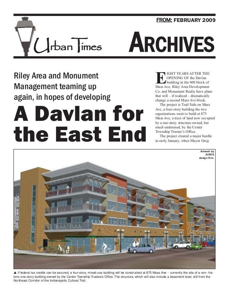 FROM: FEBRUARY 2009              UrbanT es                    im                                                          ...
