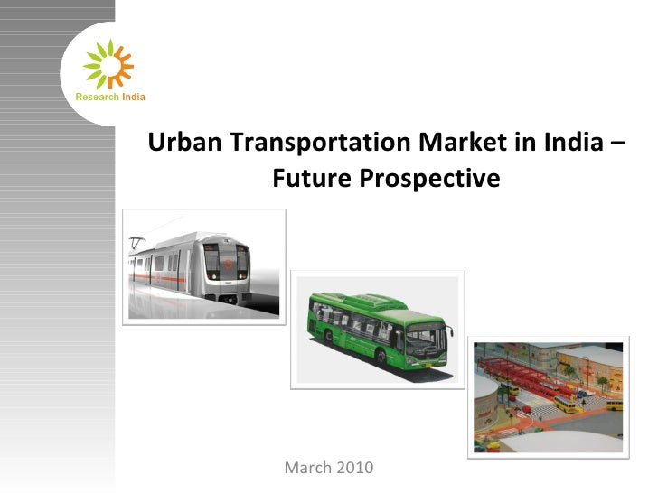 Urban Transportation Market In India