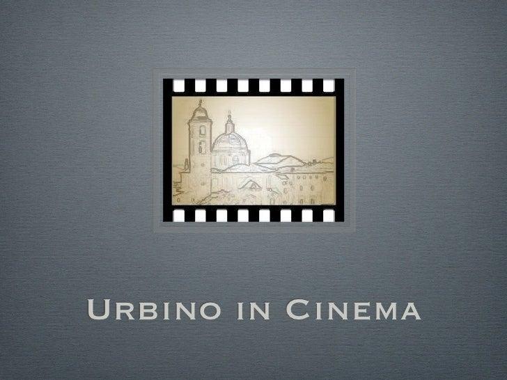 Urbino in cinema