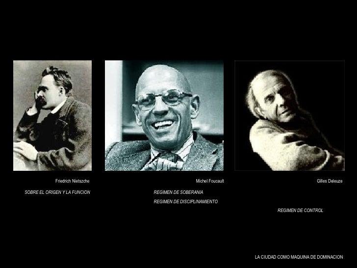 Michel Foucault Gilles Deleuze REGIMEN DE SOBERANIA REGIMEN DE DISCIPLINAMIENTO REGIMEN DE SOBERANIA REGIMEN DE DISCIPLINA...