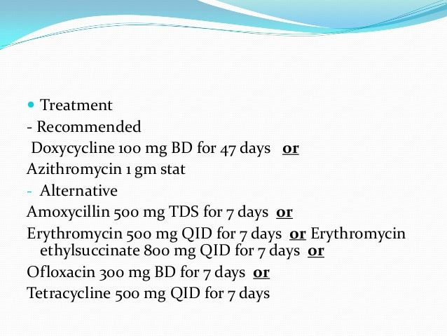 Urethritis treatment azithromycin