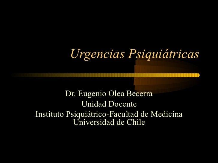 Urgencias psiquiátricas 2006