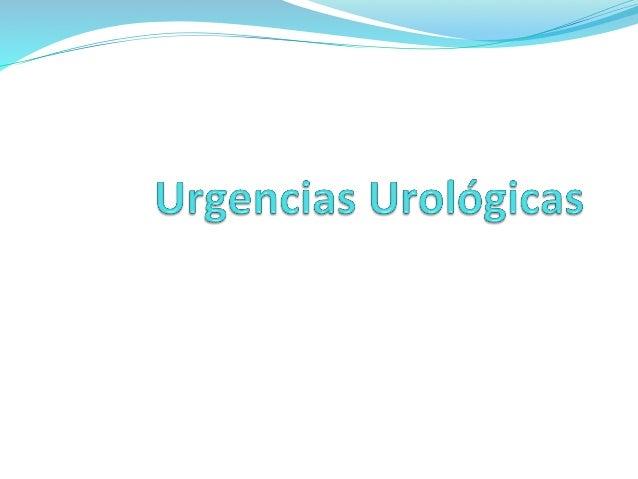 Urgencias urológicas