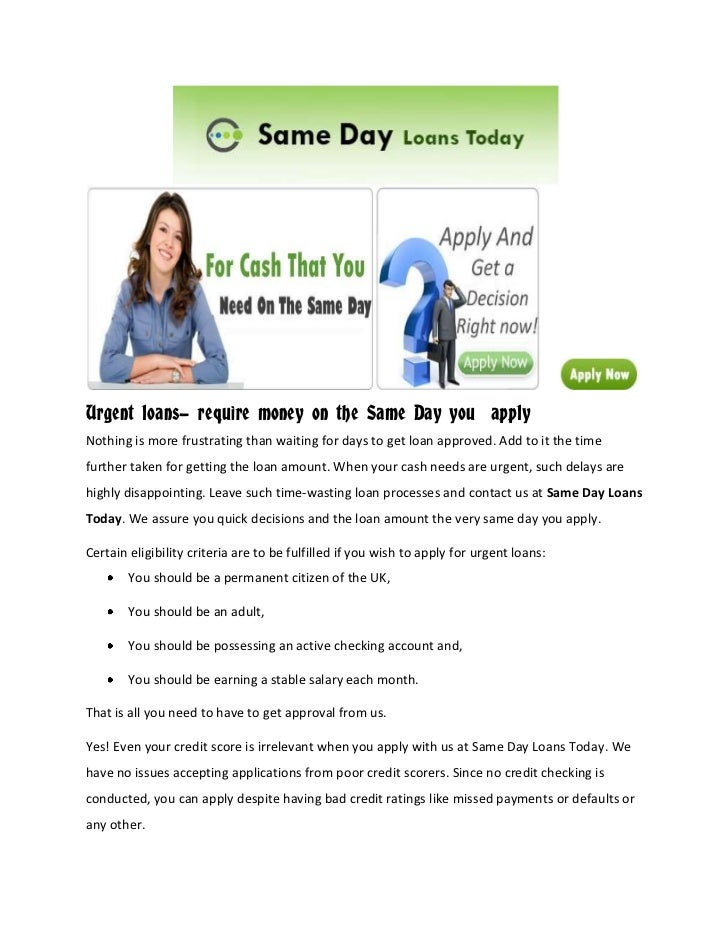 quick day loans