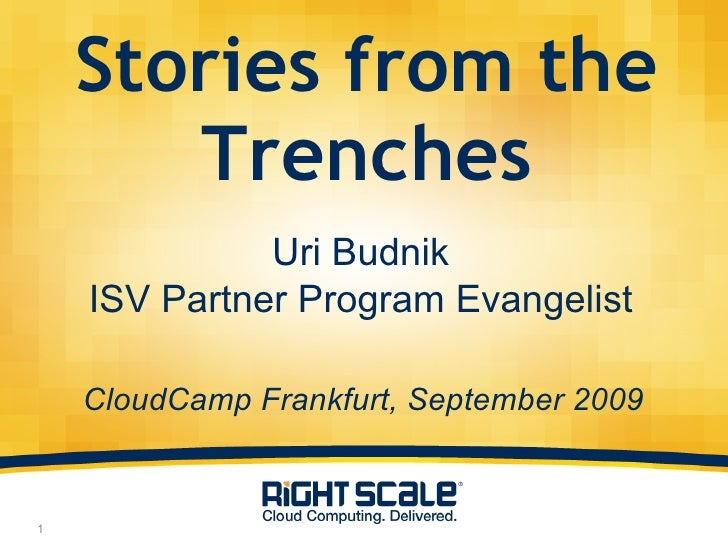 Uri Budnik   Stories From The Trenches