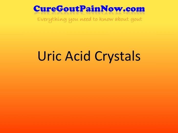Uric Acid Crystals