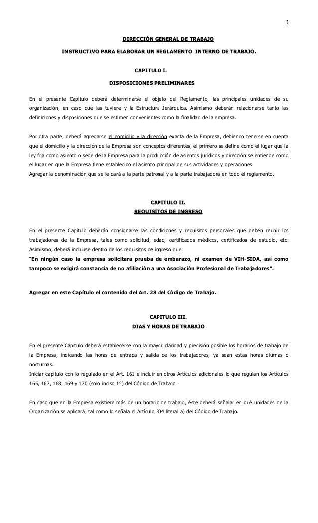 Instructivo reglamento interno ministerio de trabajo for Ministerio del interior empleo