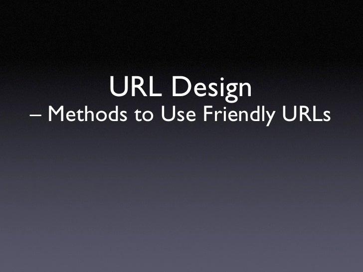 URL Design with Lasso