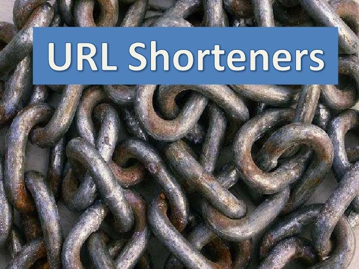 Introducing URL Shorteners