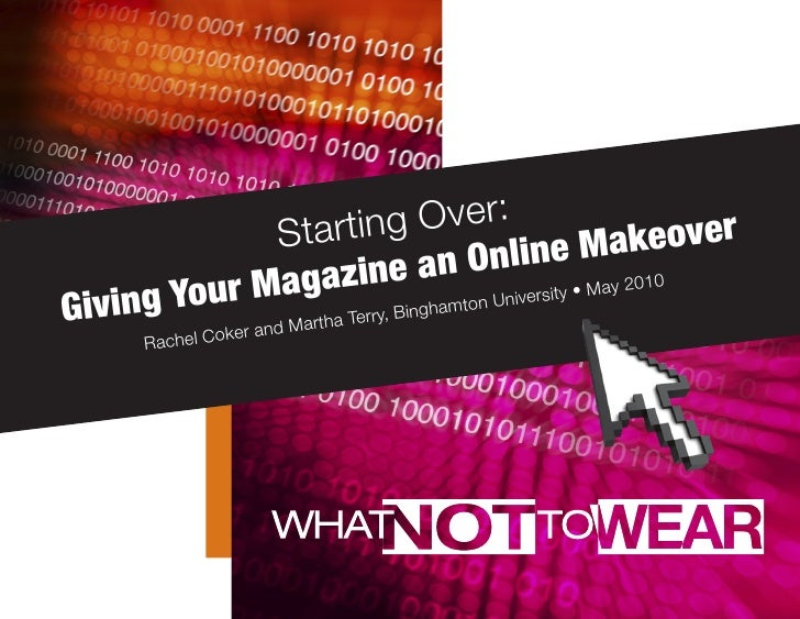 Starting Over: Giving Your Magazine an Online Makeover
