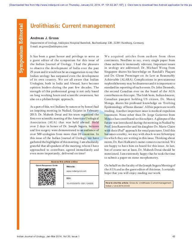 Symposium Editorial  [Downloadedfreefromhttp://www.indianjurol.comonThursday,January02,2014,IP:101.62.247.187]...