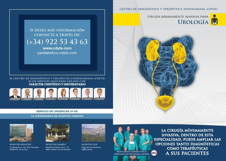 Dossier de Urologia del CDyTE